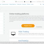avatrade platform options