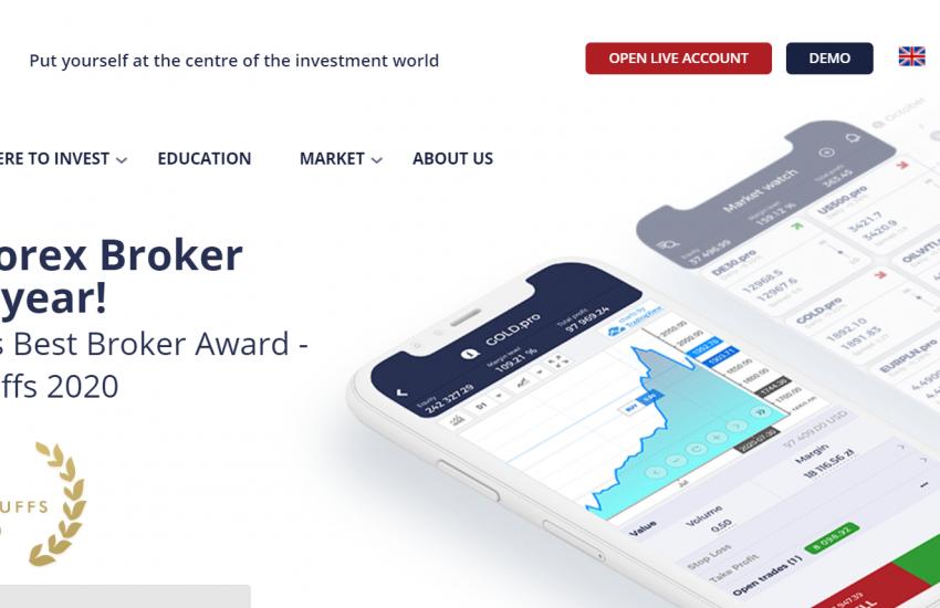 Web společnosti TMS Brokers Dom Maklerski
