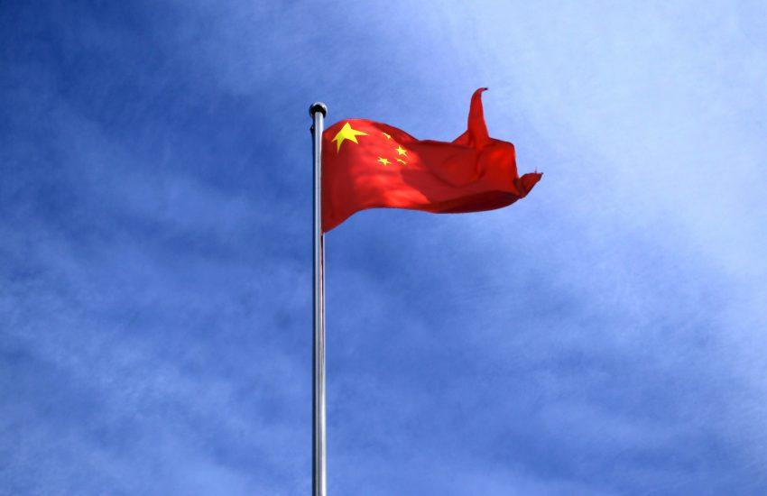 čína, čínská vlajka