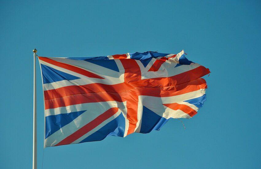 Veľká Británia, britská vlajka, Anglie